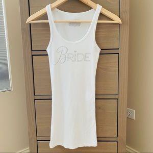 Victoria's Secret 'BRIDE' Tank in White